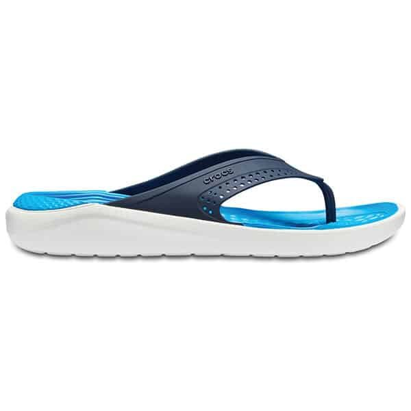 Crocs LiteRide Flip navy white 03 | Landanzeiger-Shopping