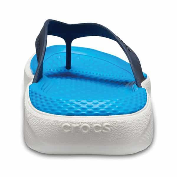 Crocs LiteRide Flip navy white 05 | Landanzeiger-Shopping