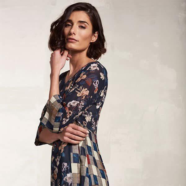 Dress Midnight Flower Nile | Landanzeiger-Shopping