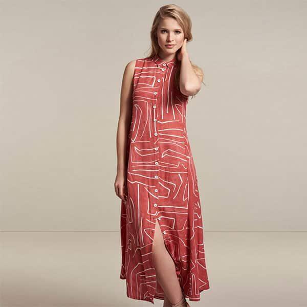 Dress Long Rust Nile | Landanzeiger-Shopping