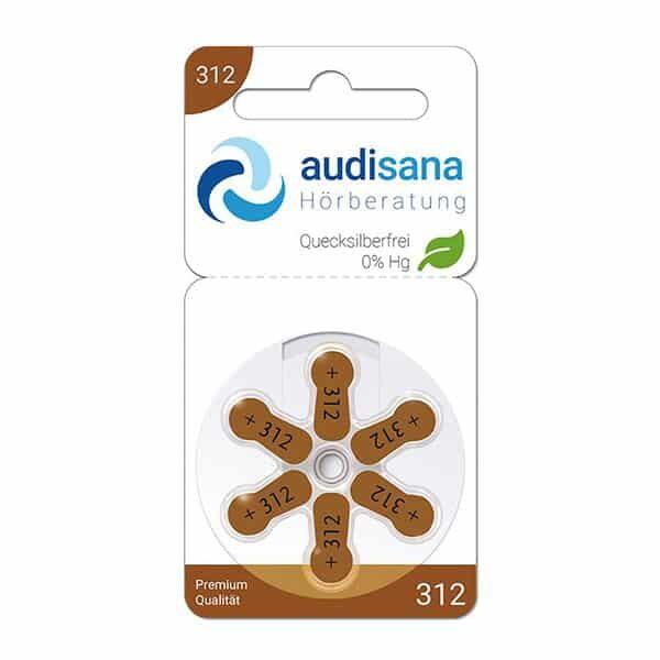 Audisana 312 Hörgerätebatterien | Landanzeiger-Shopping