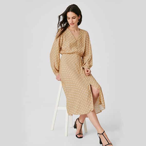 Kleid midi gepunktet 01 | Landanzeiger-Shopping