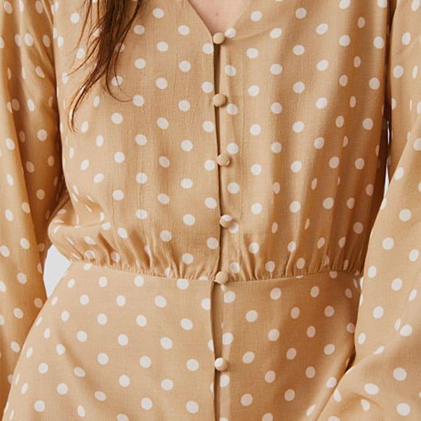 Kleid midi gepunktet 03 | Landanzeiger-Shopping