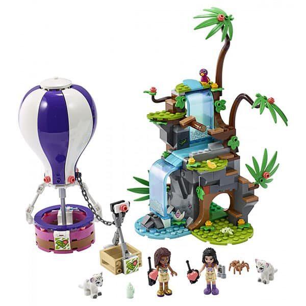 Lego Friends Tiger-Rettung mit Heissluftballon 01 | Landanzeiger-Shopping