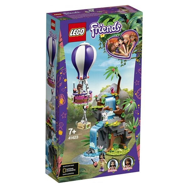 Lego Friends Tiger-Rettung mit Heissluftballon 02 | Landanzeiger-Shopping