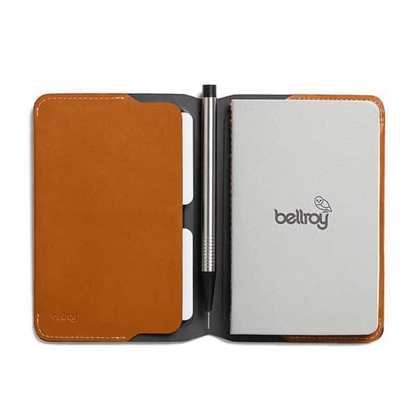 Bellroy Notebook Cover Mini brown caramel 01 | Landanzeiger-Shopping