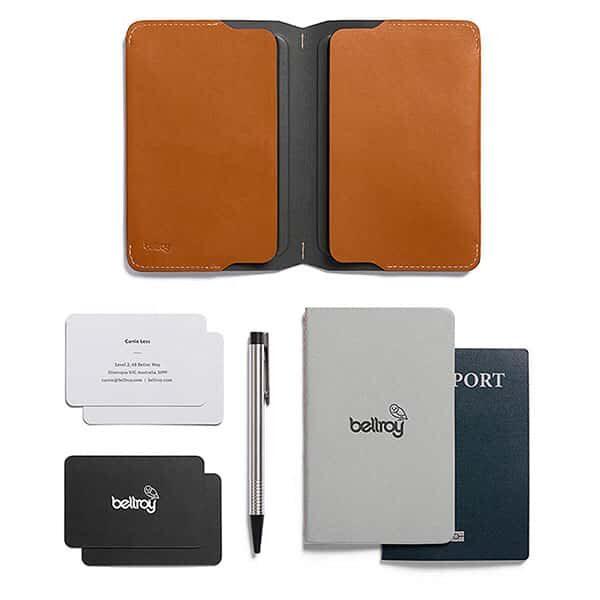 Bellroy Notebook Cover Mini brown caramel 02 | Landanzeiger-Shopping