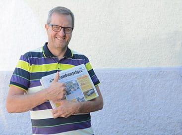 Raphael Nadler Chefredaktor | Der Landanzeiger