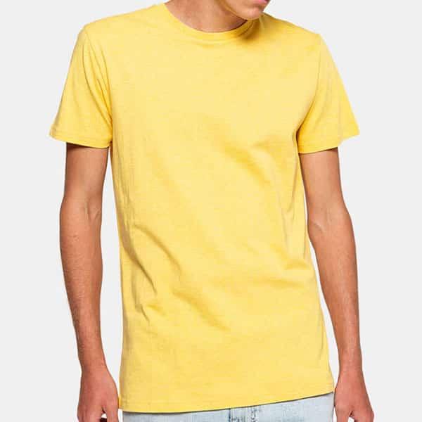 Revolution T-Shirt 1051 yellow melange 02   Landanzeiger-Shopping