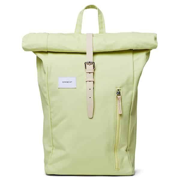 Sandqvist Backpack Dante yellow/lemon 01 | Landanzeiger-Shopping