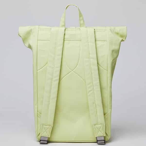 Sandqvist Backpack Dante yellow/lemon 03 | Landanzeiger-Shopping