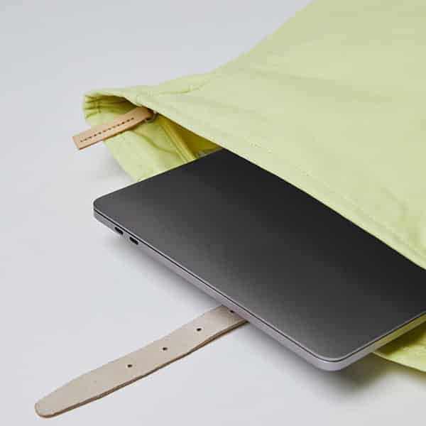 Sandqvist Backpack Dante yellow/lemon 04   Landanzeiger-Shopping
