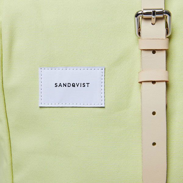 Sandqvist Backpack Dante yellow/lemon 05 | Landanzeiger-Shopping