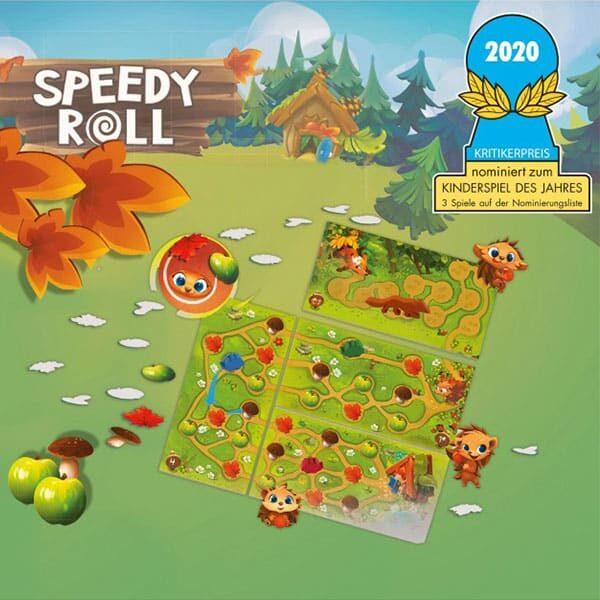 Speedy Roll - Kinderspiel des Jahres 02 | Landanzeiger-Shopping