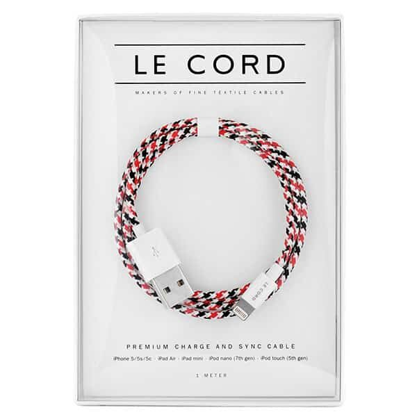 Le Chord Charge & Sync Cable white-krugeri 01 | Landanzeiger-Shopping