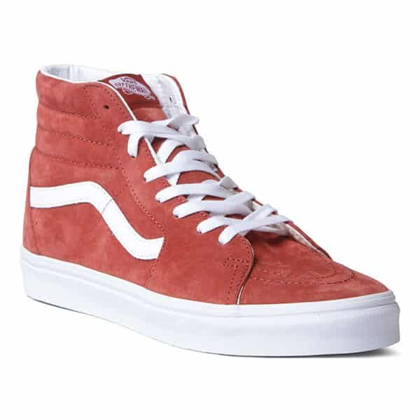 Vans Shoes Sk8-Hi red burnt brick and true white 01 | Landanzeiger-Shopping
