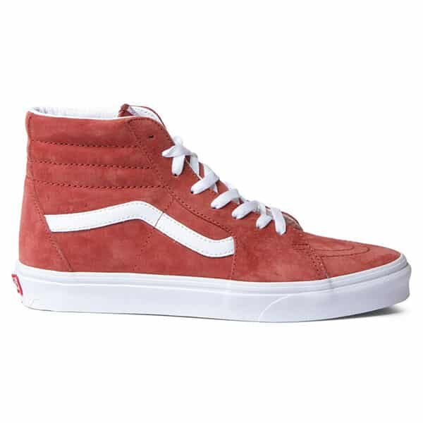 Vans Shoes Sk8-Hi red burnt brick and true white 02 | Landanzeiger-Shopping