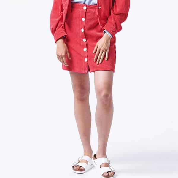 Wemoto W Skirt Lexi red 02 | Landanzeiger-Shopping