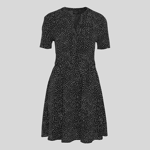 Fit & Flare Kleid Yessica gepunktet 03 | Landanzeiger-Shopping
