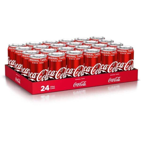 Coca-Cola Classic 24 Dosen à 33 cl | Landanzeiger-Shopping