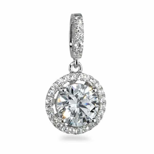 Anhänger Silber Swarovski Crystal rhodiniert | Landanzeiger-Shopping