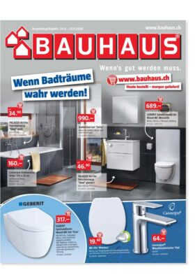 Bauhaus Prospekt Eröffnung Oftringen   Landanzeiger-Shopping