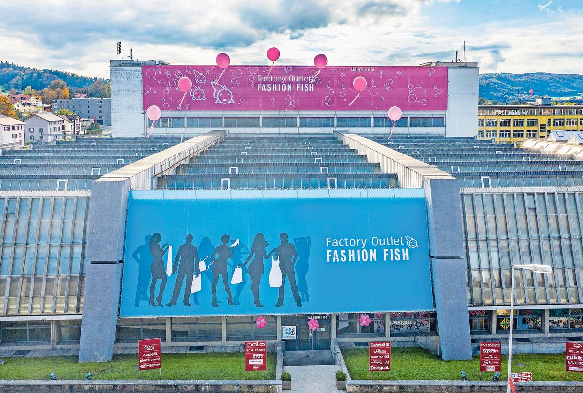 Fashion Fish Schönenwerd Aussenbild | Landanzeiger-Shopping