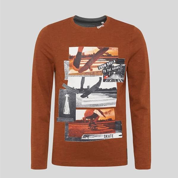 Langarmshirt für Jungen mit Skatermotiven 04 | Landanzeiger-Shopping