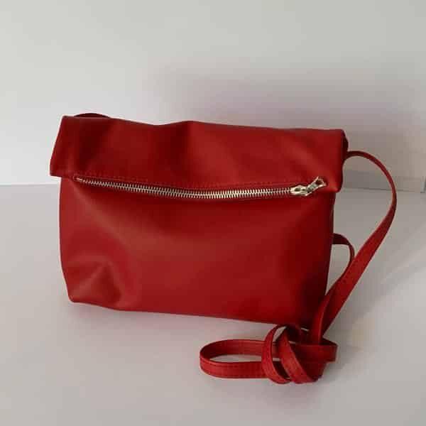 Bubble Handtasche Midi rot | Landanzeiger-Shopping