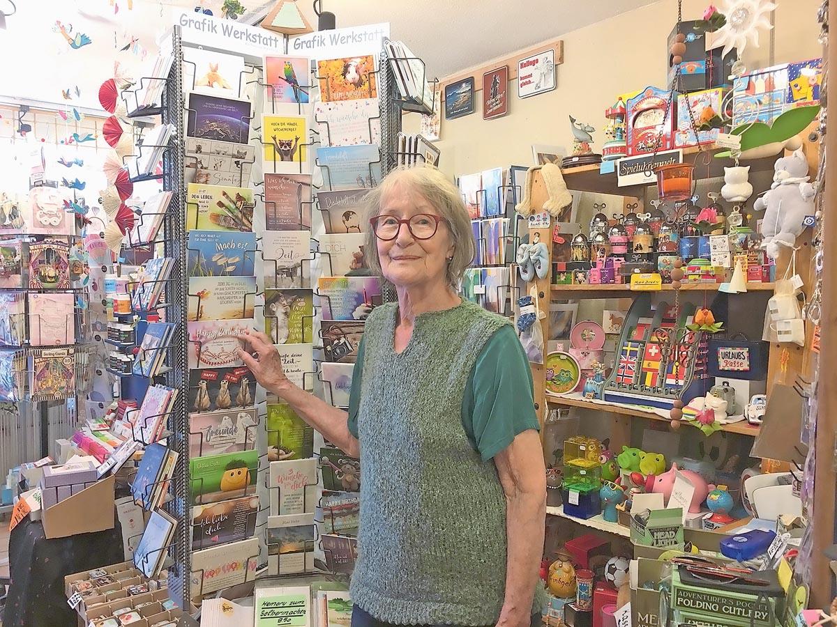 Irene Schmid nimmt Abschied vom Chrämerlädeli Aarau | Landanzeiger-Shopping