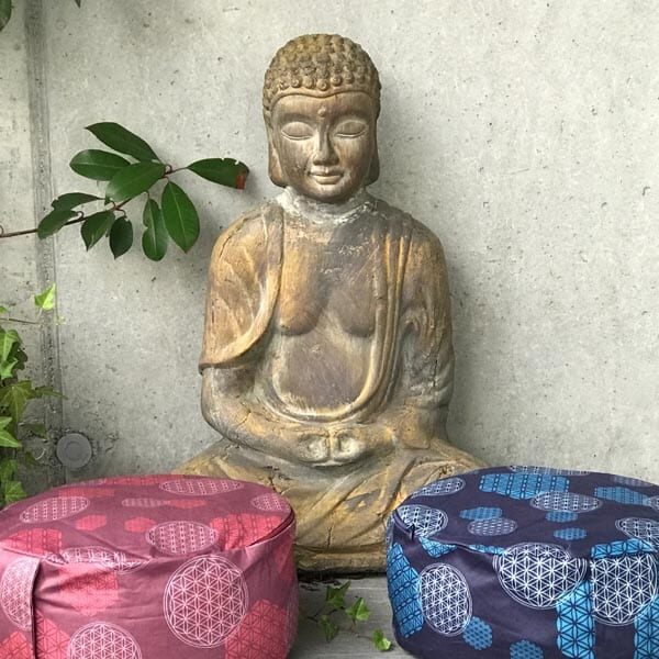 Meditationskissen Blume des Lebens | Landanzeiger-Shopping