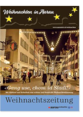 Weihnachtszeitung Aarau 2020   Landanzeiger-Shopping