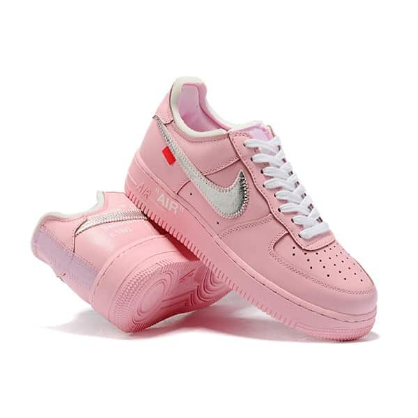 "Air Force 1 ""Pink Parrot"" Customized 01 