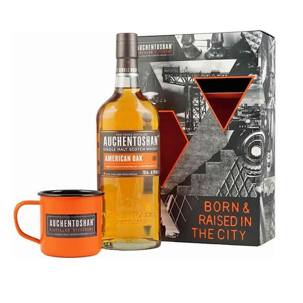 Auchentoshan Single Malt Whiskey-Set mit Becher 01 | Landanzeiger-Shopping