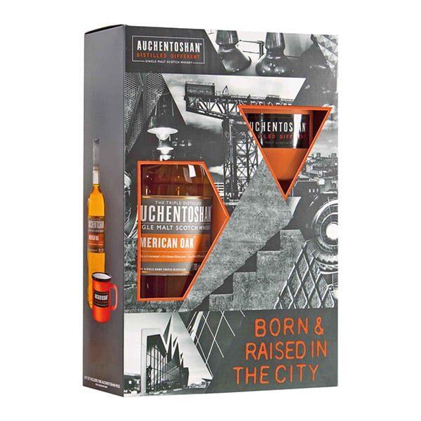 Auchentoshan Single Malt Whiskey-Set mit Becher 02 | Landanzeiger-Shopping