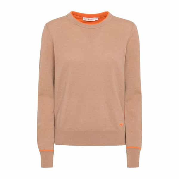 Cashmere Pullover Camel Tory Burch 01 | Landanzeiger-Shopping