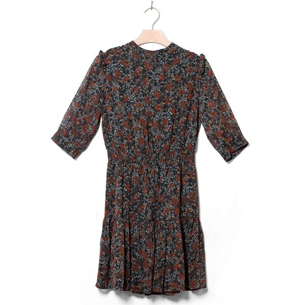 Sessun Dress Jenny green fumo 01 | Landanzeiger-Shopping