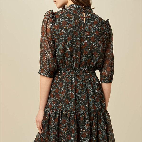 Sessun Dress Jenny green fumo 03 | Landanzeiger-Shopping
