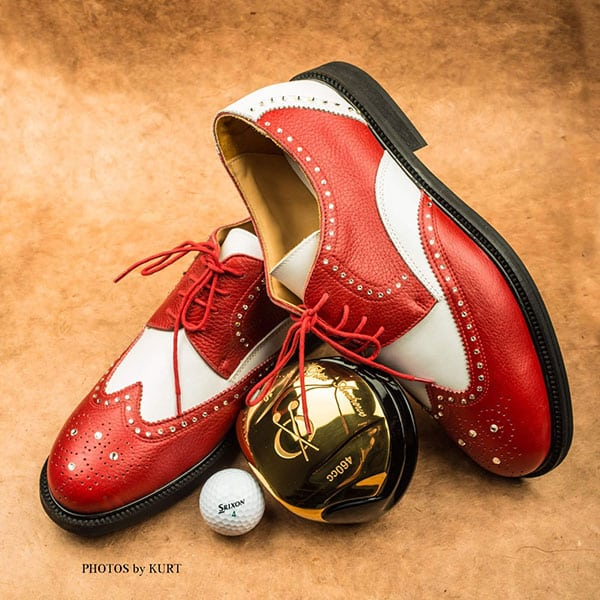 Golf and Casual Shoe red 01 | Landanzeiger-Shopping