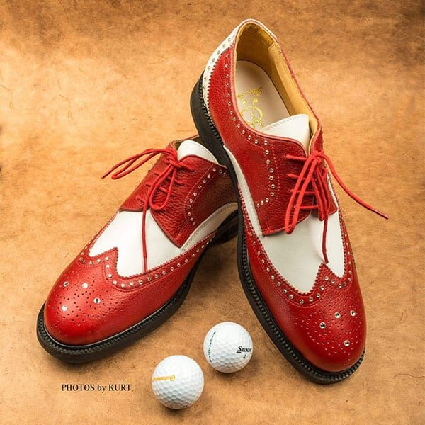 Golf and Casual Shoe red 02 | Landanzeiger-Shopping