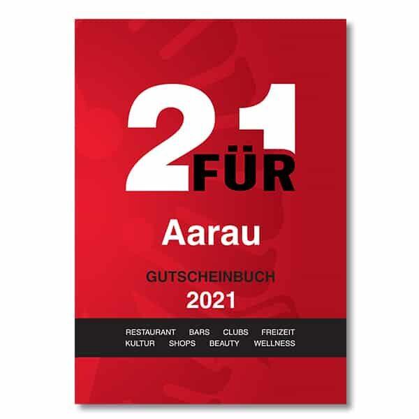 Gutscheinbuch 2für1 Aarau 2021 | Landanzeiger-Shopping