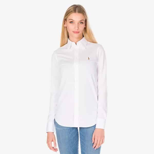 Hemd Bluse weiss Polo Ralph Lauren 01 | Landanzeiger-Shopping