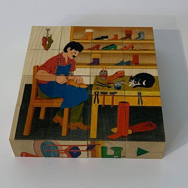 Klötzli-Puzzle Berufe Atelier Fischer 02 | Landanzeiger-Shopping