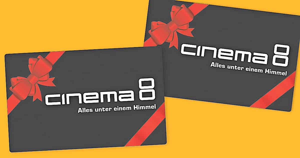 Cinema 8 Geschenkkarten zu Weihnachten | Landanzeiger-Shopping