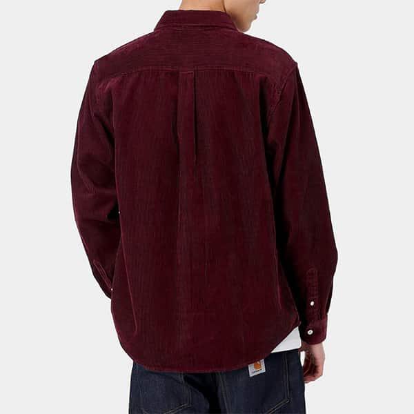 Carhartt WP Shirt Madison red bordeaux 03 |Landanzeiger-Shopping