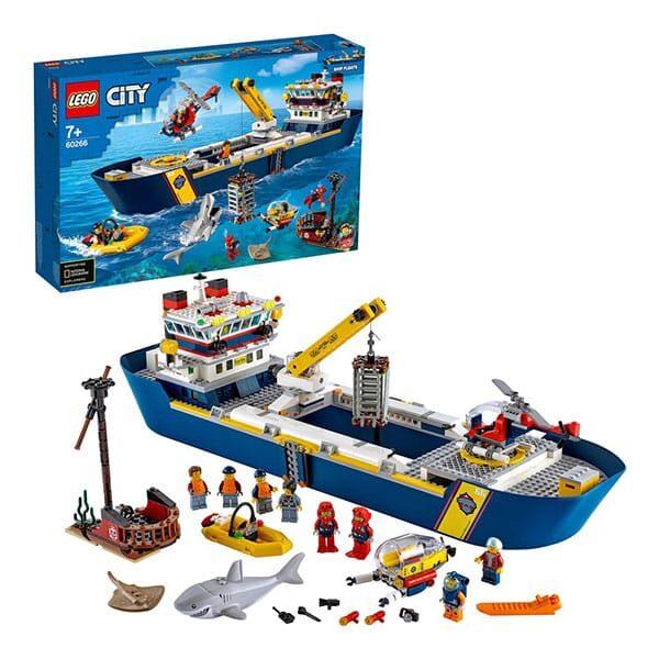 Meeresforschungsschiff Lego 01   Landanzeiger-Shopping