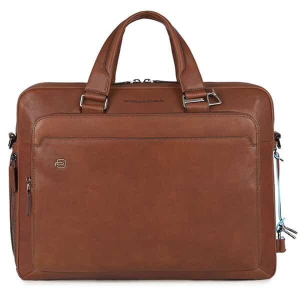 "Laptoptasche 15"" Picquadro tabakbraun 01   Landanzeiger-Shopping"