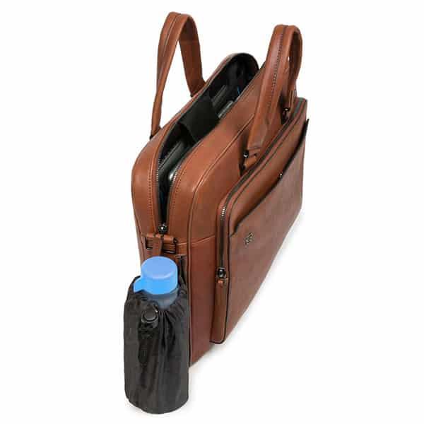 "Laptoptasche 15"" Picquadro tabakbraun 02   Landanzeiger-Shopping"