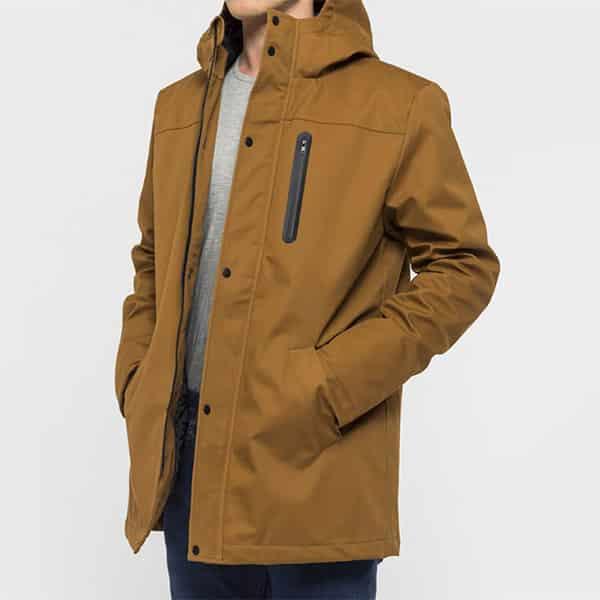 Revolution Winterjacke 7443 brown II 02 | Landanzeiger-Shopping