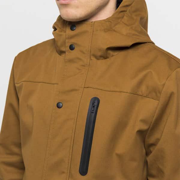 Revolution Winterjacke 7443 brown II 04 | Landanzeiger-Shopping